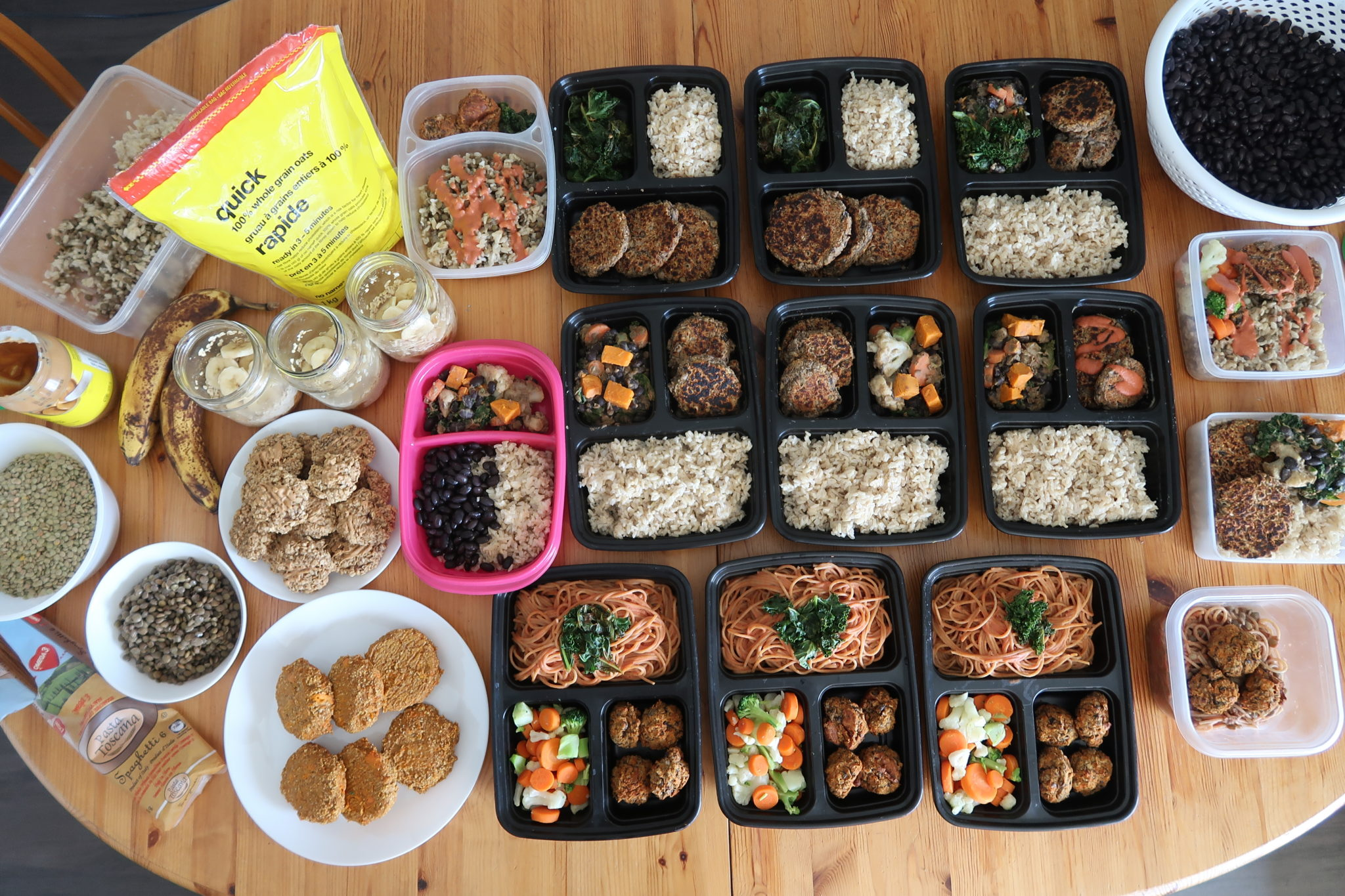 $20 Vegan Meal Prep (7 full days!)   Cheap Lazy Vegan