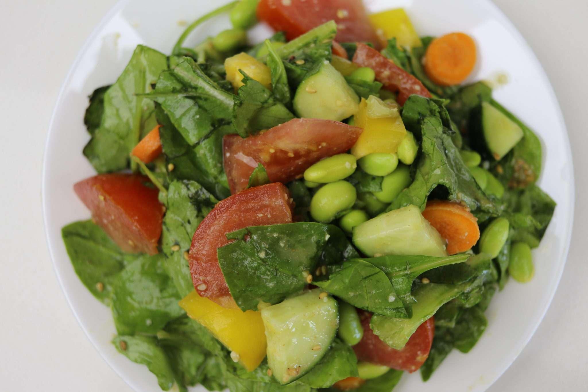 easy miso sesame salad dressing  cheap lazy vegan