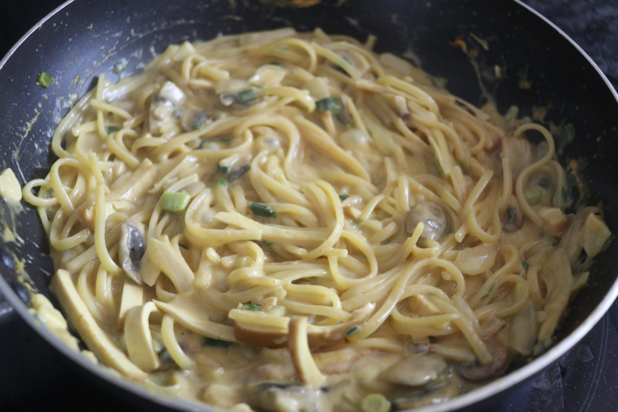 Vegan Take On Toowoomba Pasta From Outback Steakhouse Creamy Spicy Pasta Recipe Cheap Lazy Vegan