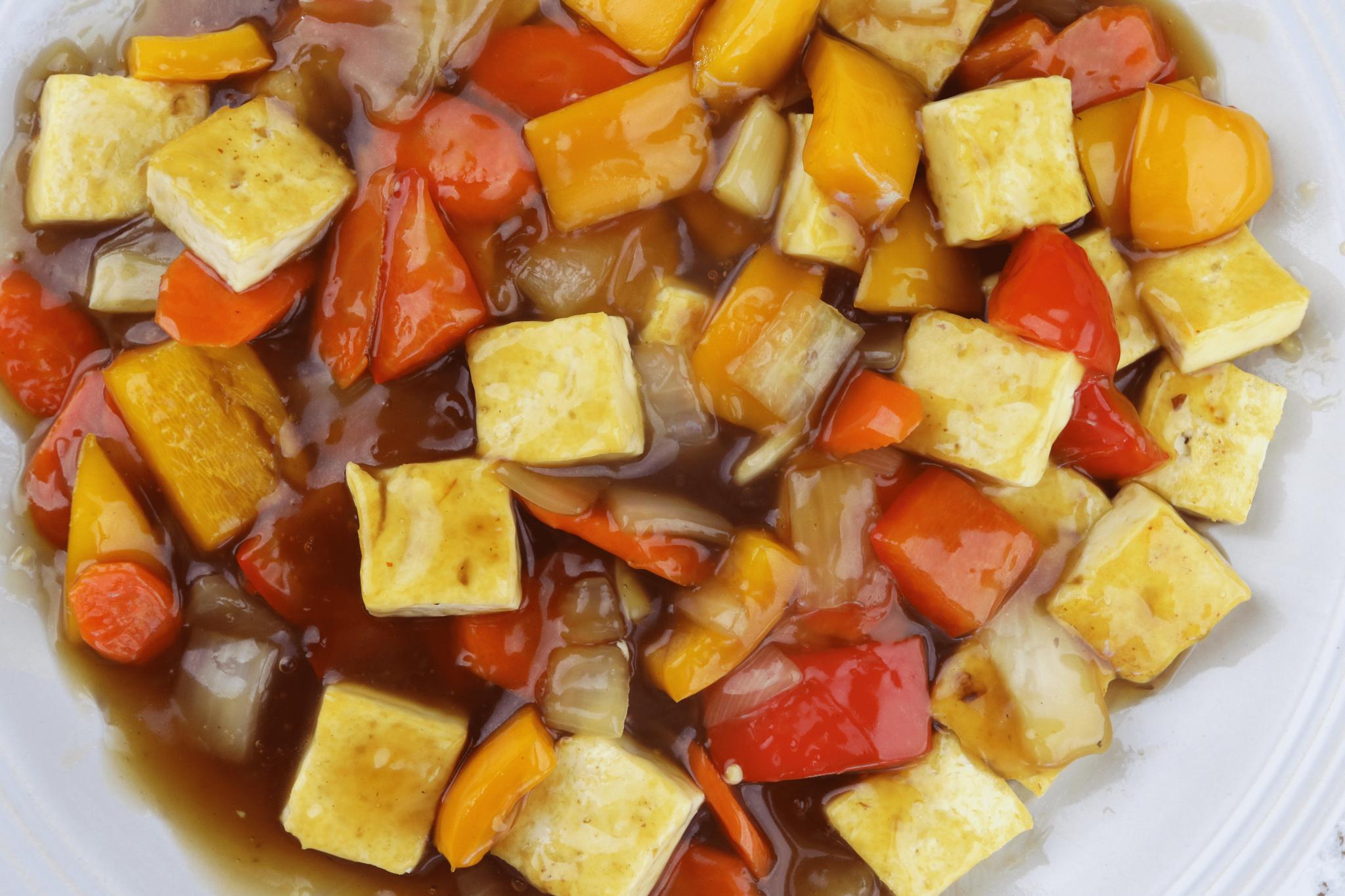 sweet sour tofu(1)